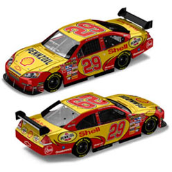 07 Kevin Harvick Chevy  Shell  Car of Tomorrow Diecast Car