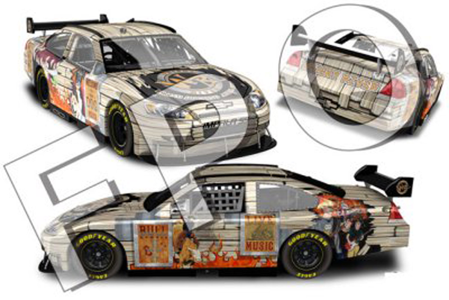2008 Dale Earnhardt Jr  Whiskey  River 1/24 Car
