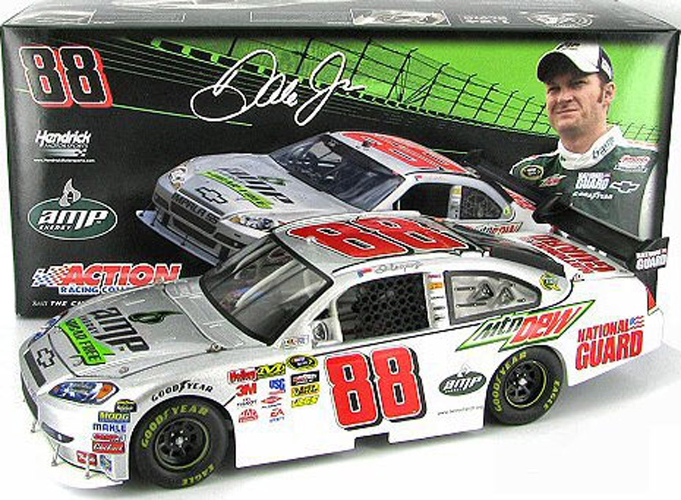 2009 Dale Earnhardt Jr #88 Amp Sugar Free 1/24   Car