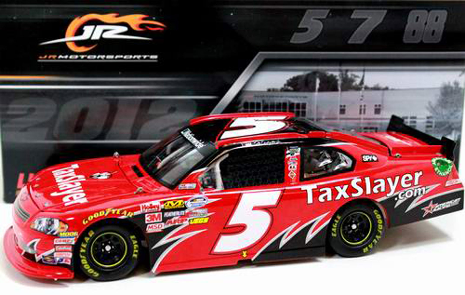 2012 Dale Earnhardt Jr #5 Taxslayer NW 1/24  Diecast Car