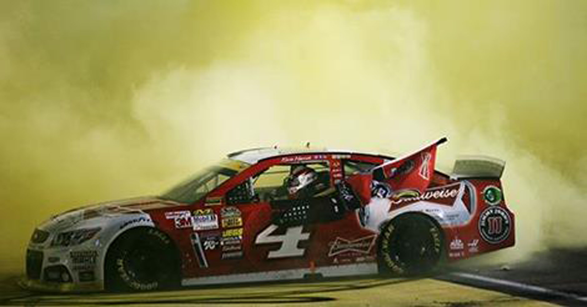 2014 Kevin Harvick #4 Budweiser Homestead Win 1:24 Diecast Car