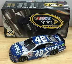 2015 Jimmie Johnson #48 Lowes Texas 75th Win 1/24 Diecast Car.