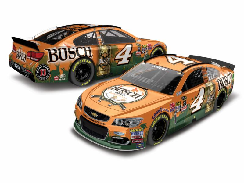 2016 Kevin Harvick #4 Busch Beer Hunting 1:24 Diecast Car