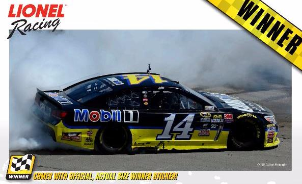 2016 Tony Stewart #14 Code 3 Sonoma Raced Win 1:24