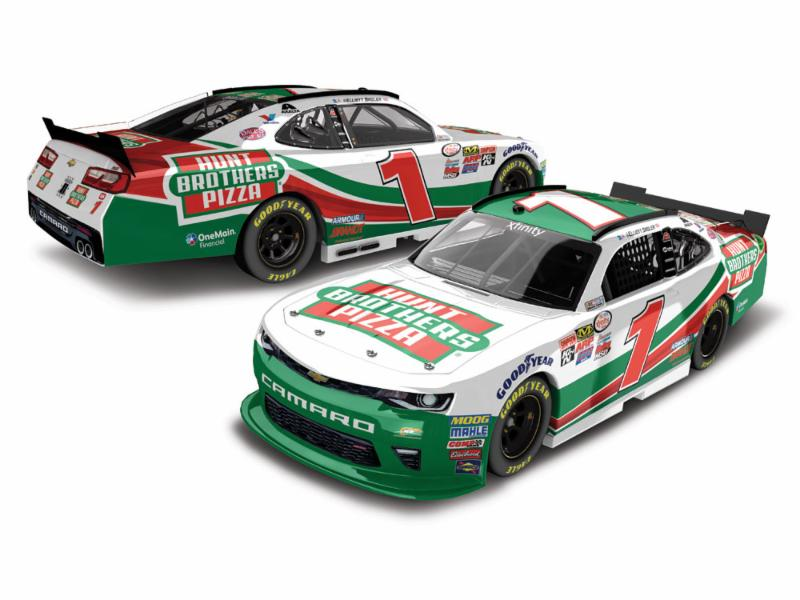 2017 Elliott Sadler #1 Hunt Bros Pizza 1:64 Diecast Car