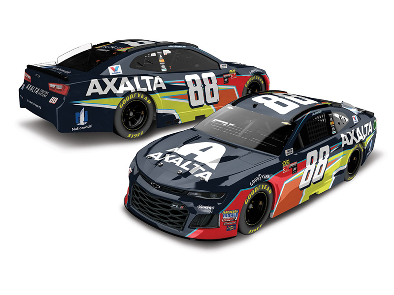 2018 Alex Bowman #88 Axalta. 1:64 Diecast Car.