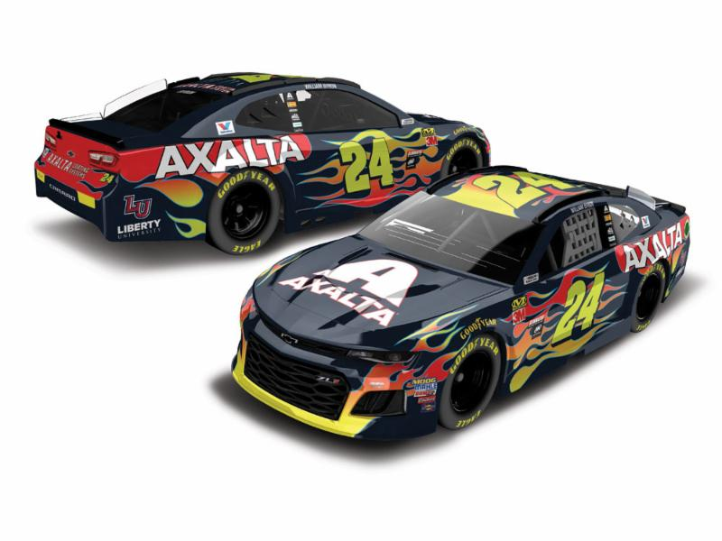 2018 William Byron #24 Axalta 1:64 Diecast Car