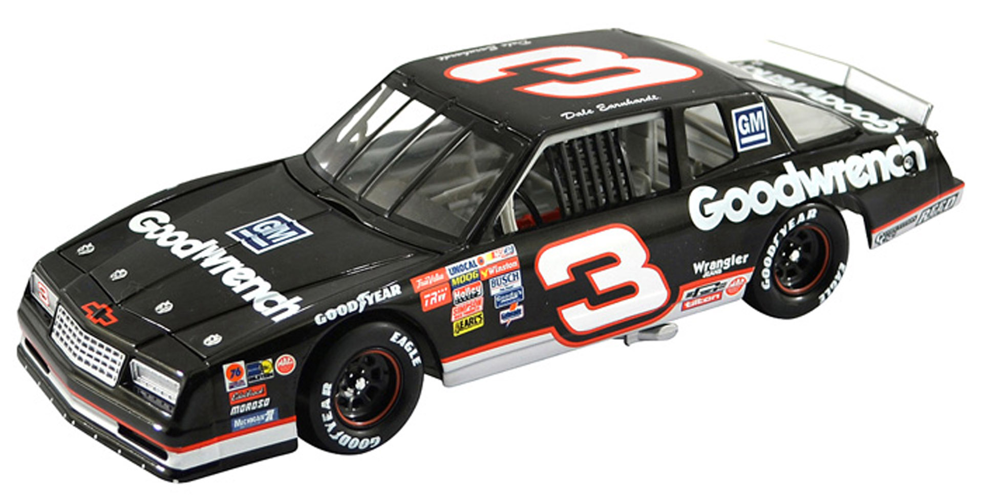 2012 Dale Earnhardt Sr #3 1989 Goodwrench Monte Carlo 1/24 Diecast Car.