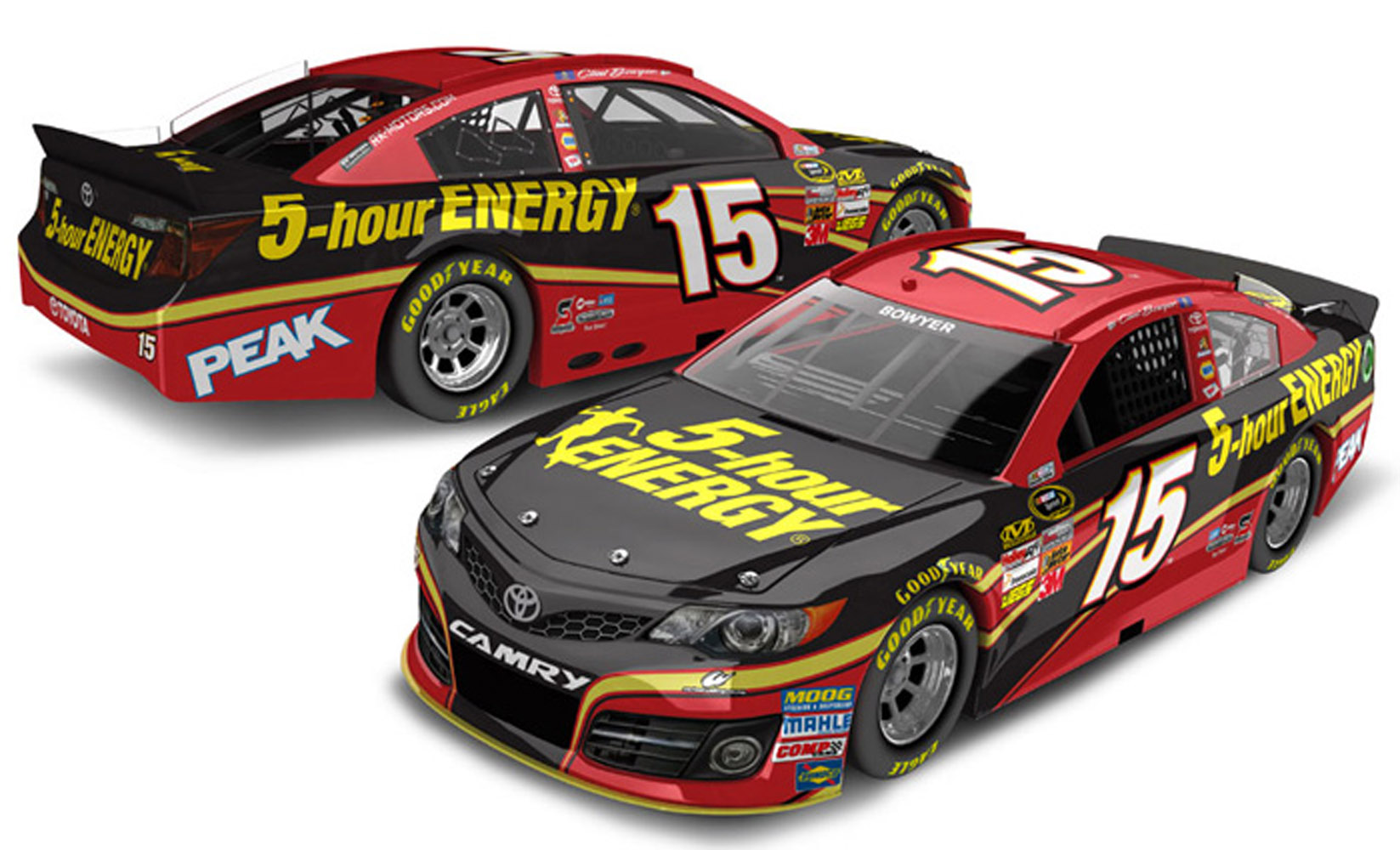 2013 Clint Bowyer #15 5-Hour Energy  1:24 Diecast Car