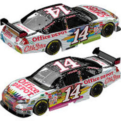 2009 Tony Stewart  #14 Office Depot Back to School 1/24  Car