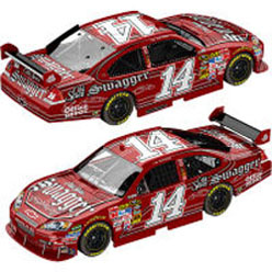 2009 Tony Stewart  #14 Swagger 1/24  Car