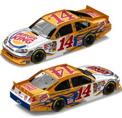 2011 Tony Stewart  #14 Burger King 1/24  Car