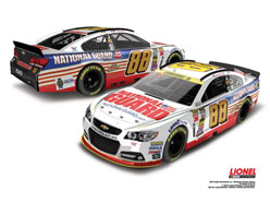 2014 Dale Earnhardt Jr #88 Chase For The Cup National Guard 1/24 Diecast Car
