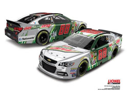 2015 Dale Earnhardt Jr #88 Diet Mt. Dew 1/24 Diecast Car