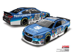 2015 Dale Earnhardt Jr #88 Nationwide 1/24 Diecast Car