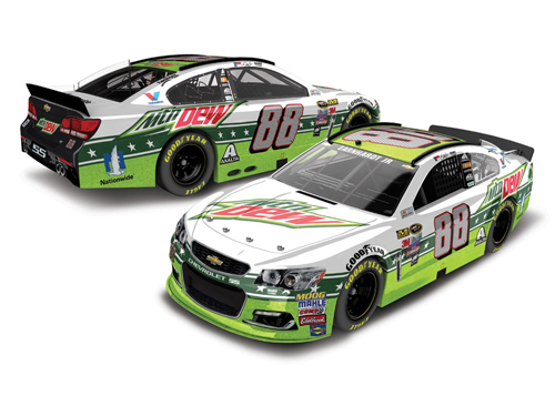 2016 Dale Earnhardt Jr #88 Mtn Dew All Star 1:64 Diecast Car