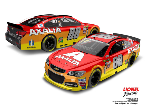 2016 Dale Earnhardt Jr #88 Axalta 1:24 Diecast Car