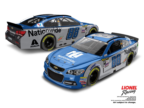 2016 Dale Earnhardt Jr #88 Nationwide Insurance 1:24 Diecast Car