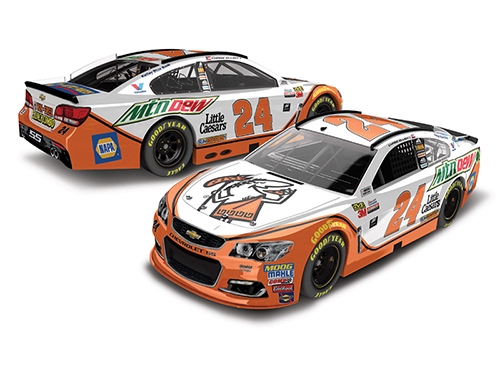 2017 Chase Elliott #24 Mountain Dew / Little Caesars 1:64 Diecast Car