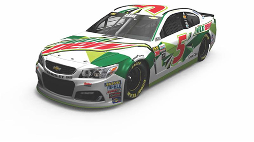 2017 Kasey Kahne Mountain Dew 1:64 Diecast Car