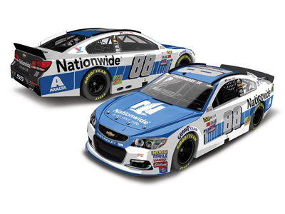 2017 Dale Earnhardt Jr #88 Nationwide 1:24 Diecast Car