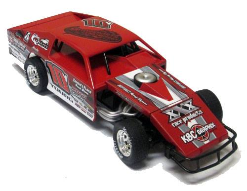 ADC RED SERIES TRENT YOUNG MODIFIED 1/24 Diecast Car