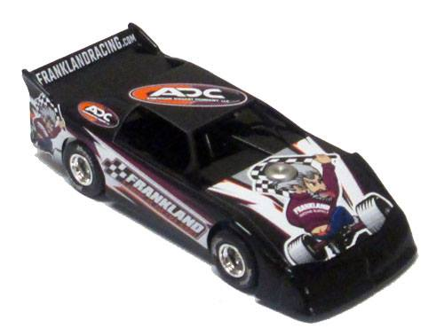ADC RED SERIES ADC / Frankland Promo Late Model 1/64 Diecast Car.