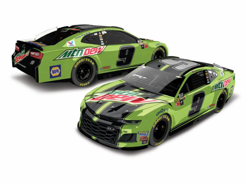 2018 Chase Elliott #9 Mountain Dew RCCA Elite 1:24 Diecast Car