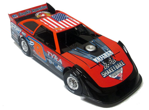 ADC Red Series. 2020 Dustin Linville #D8 Dirt Late Model 1/64 Diecast Car