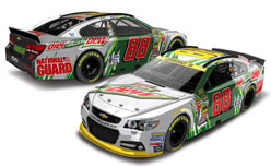 "2014 Dale Earnhardt Jr #88 Diet Mountain Dew ""DaleCall"" 1/24 Diecast Car."