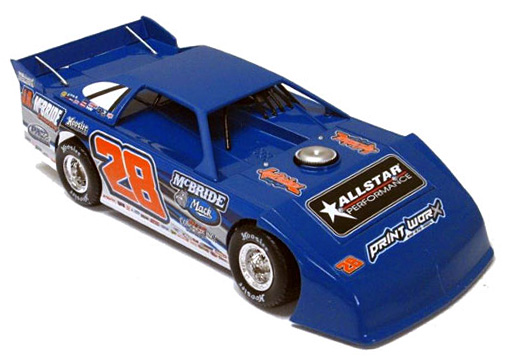2015 Dennis Erb Jr #28 Dirt Late Model 1/64 Diecast Car