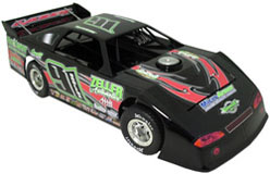 2012 RUSTY SCHLENK #91 1/24 Dirt Late Model Diecast Car